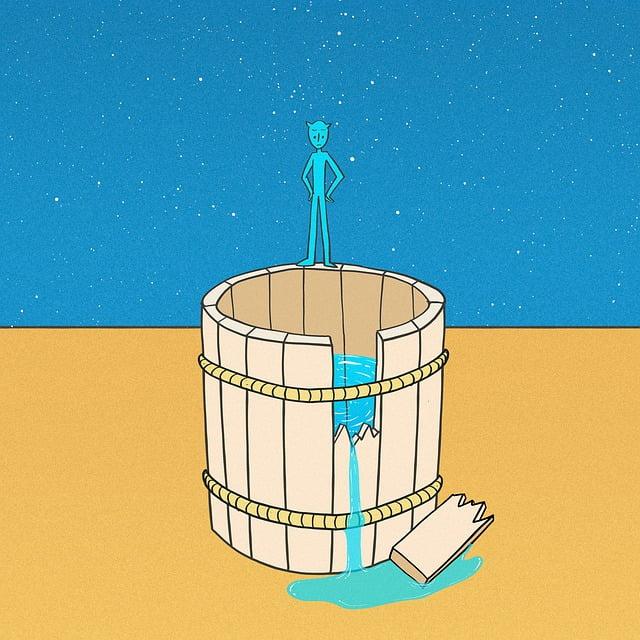 vatten avlopp jour
