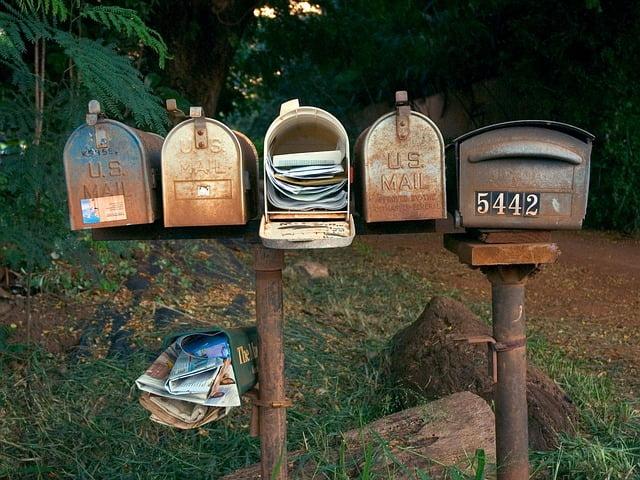 Flexbox brevlådor